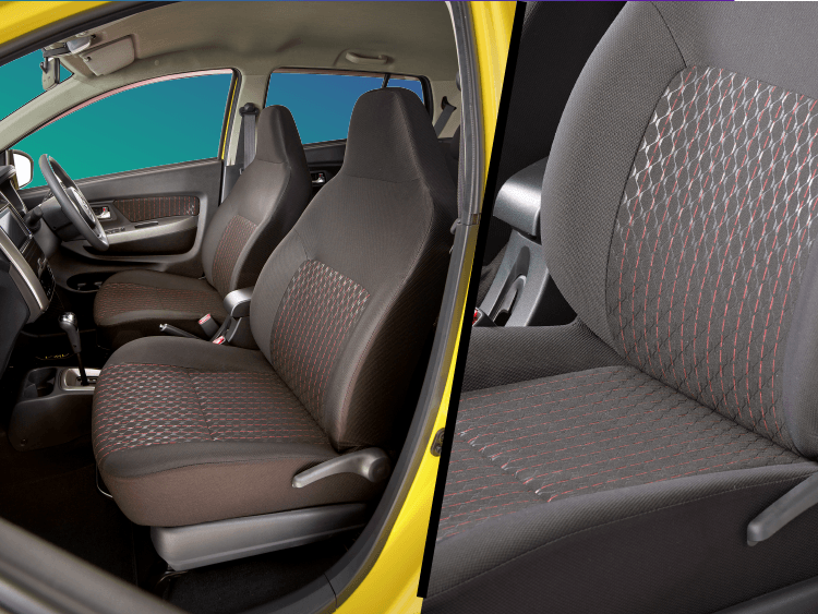 Sporty Interior Color & Seat Pattern