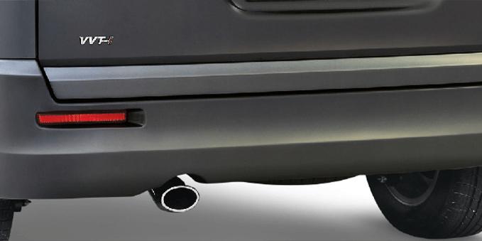 New Rear Bumper Design