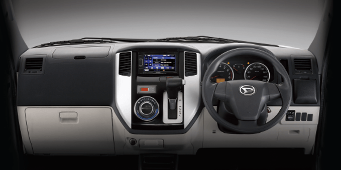 New 2-Tone Color Dashboard with New Steering Wheel Design