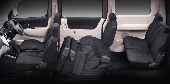 New Dark Interior Design with Exclusive Seat Pattern