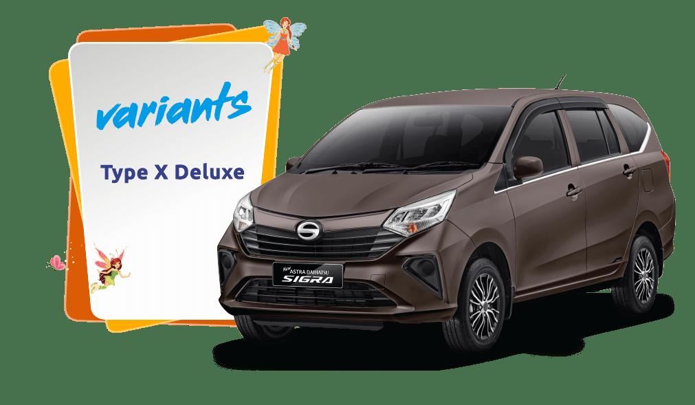 Daihatsu Sigra 1.2 X MT DLX MC