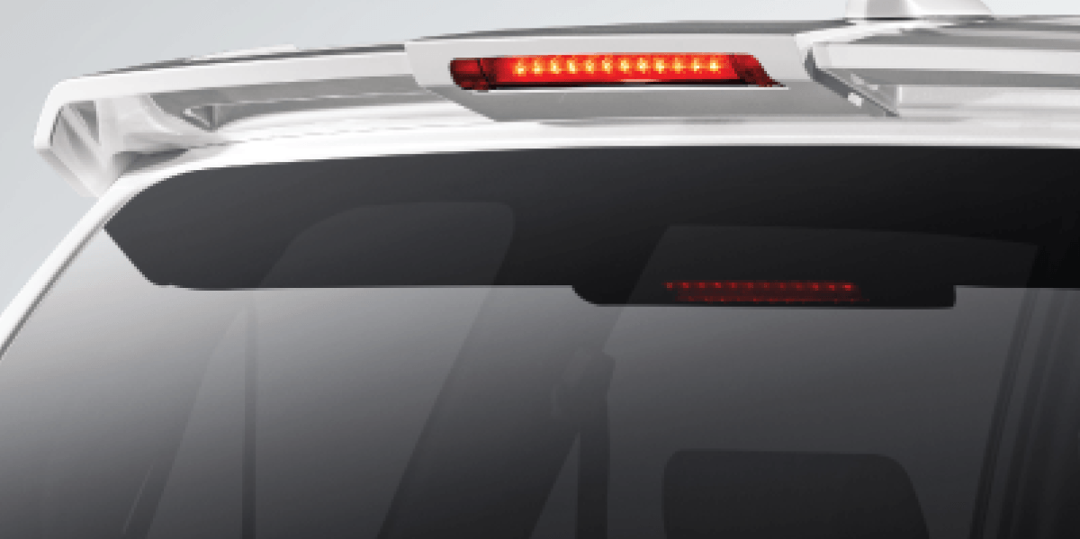 New Rear Spoiler With HMSL