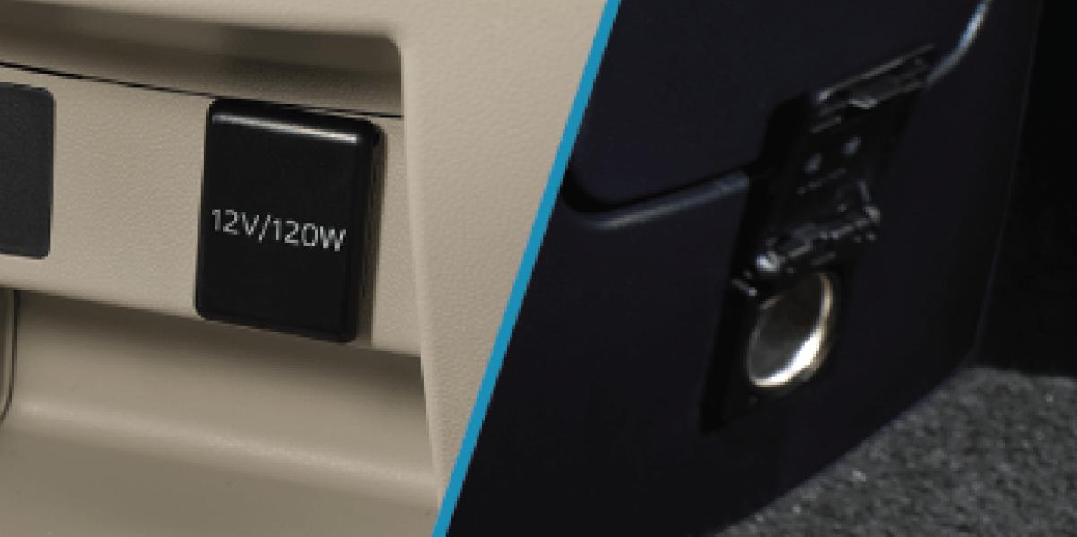 12V Power Outlet
