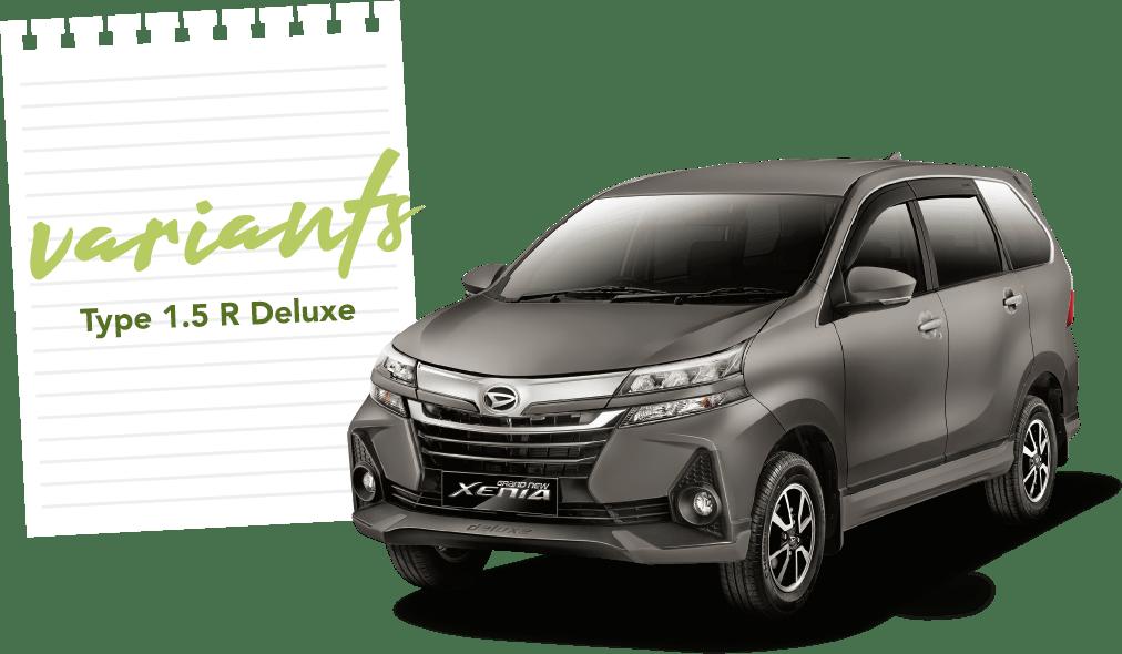 Daihatsu Xenia R MT 1.5 DLX
