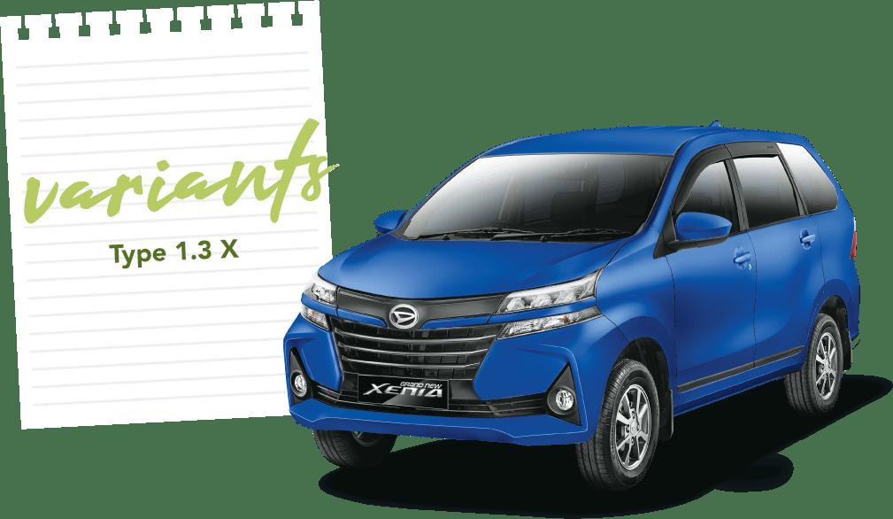 Daihatsu Xenia X AT 1.3 STD