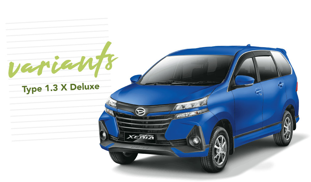 Daihatsu Xenia X MT 1.3 DLX